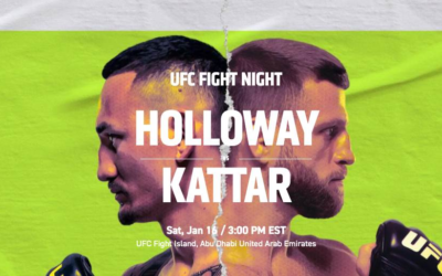 Preview - UFC Fight Night: Holloway vs. Kattar on ABC and ESPN+