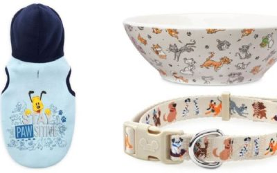 Disney Parks Reigning Cats and Dogs Collection Pet Essentials