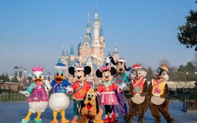 """Shanghai Disney Resort's """"A Spring Festival Spectacular"""" Celebrates the Year of the Ox"""