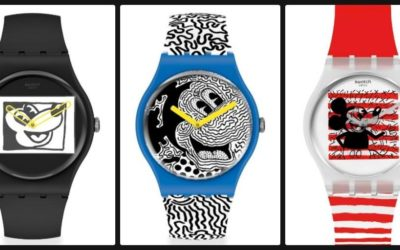 Swatch Debuts Mickey Mouse x Keith Haring Collection of Timepieces
