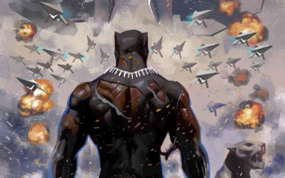 "Ta-Nehisi Coates' ""Black Panther"" Series Comes to an End in April"