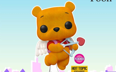 There Is a Valentine's Winnie the Pooh Flocked Funko Pop! Vinyl Figure Available Now