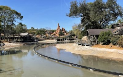Water Slowly Refilling in Magic Kingdom's Rivers of America