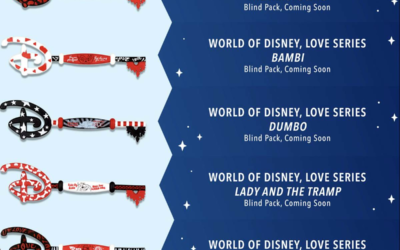 World of Disney, Love Series Collectible Key Blind Packs Coming Soon