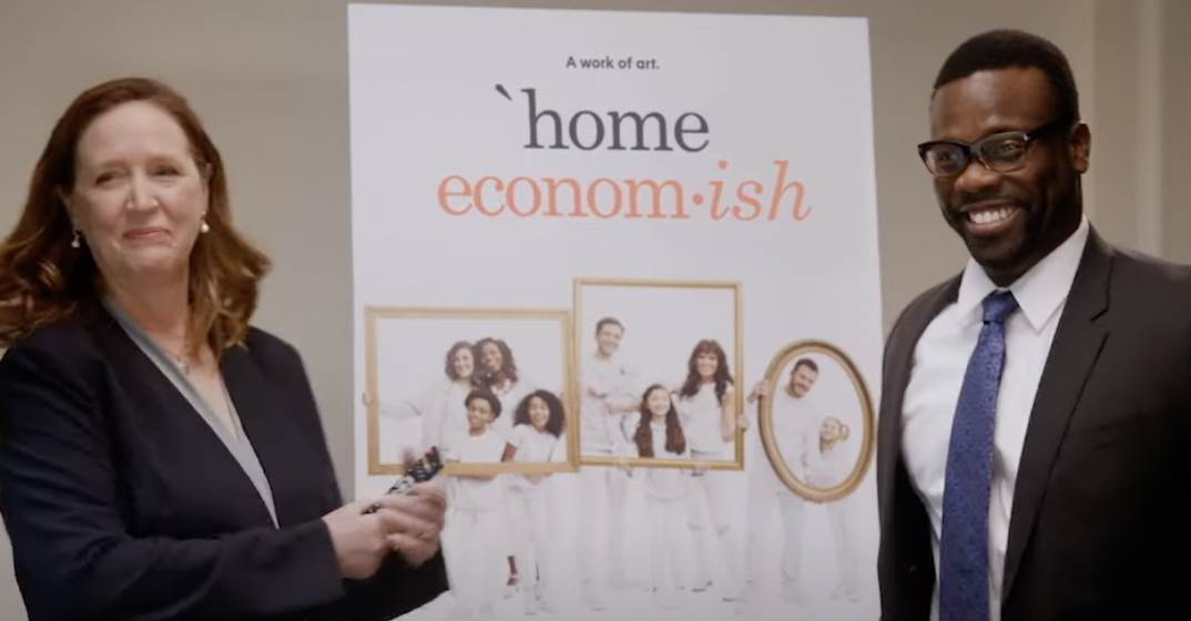 Abc Releases A Home Economics Promo With The Cast Getting Some Marketing Ideas For The New Show Laughingplace Com