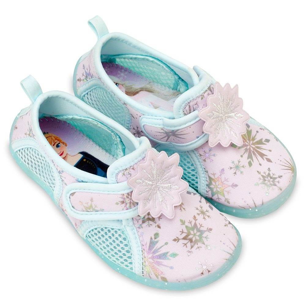 Anna and elsa swim shoes for kids ndash frozen 2 shopdisney Disney Kids Swimwear and Accessories Make a Splash on shopDisney 8211 Laughing Place