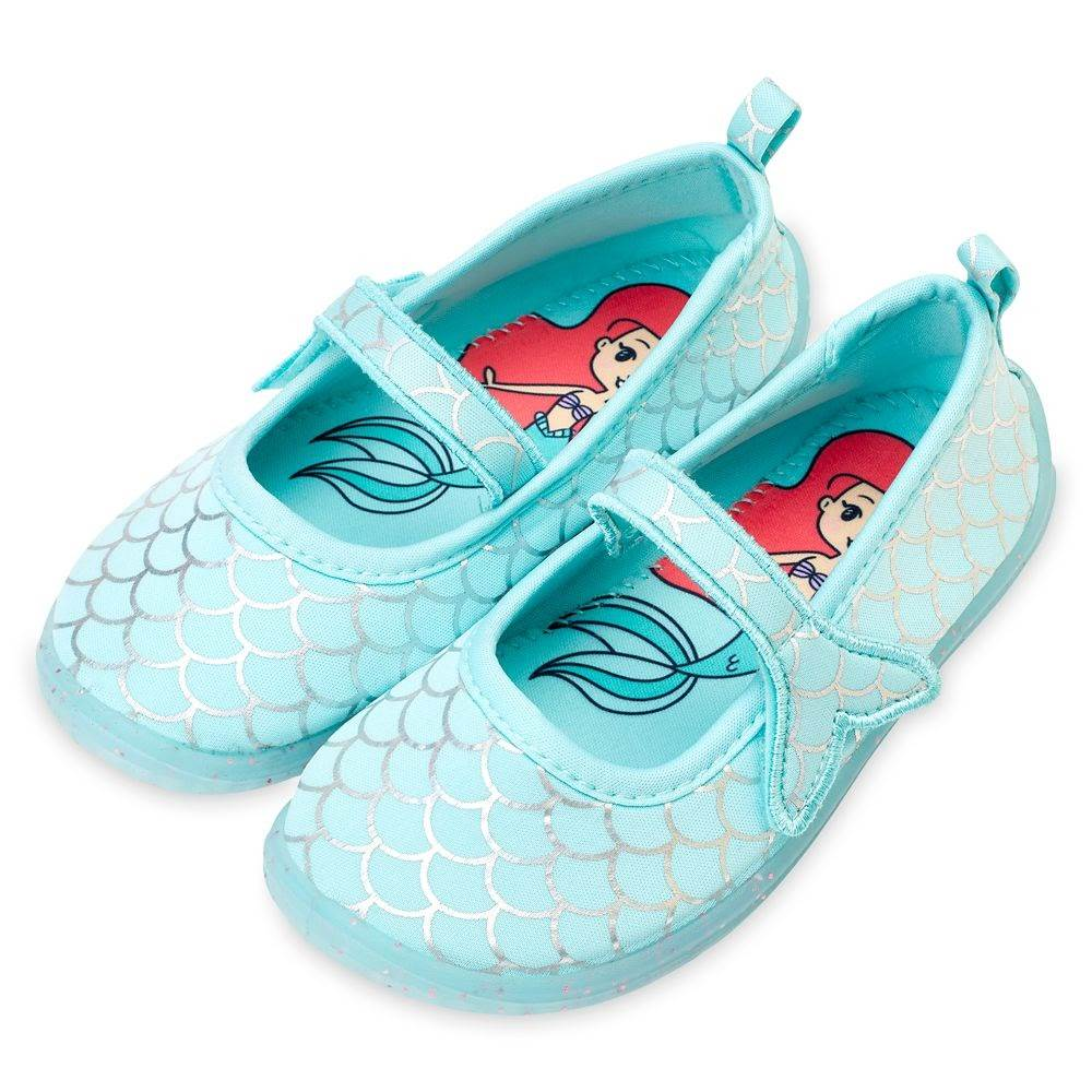 Ariel swim shoes for kids ndash the little mermaid shopdisney Disney Kids Swimwear and Accessories Make a Splash on shopDisney 8211 Laughing Place