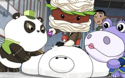 "Bots Try and Take Over SFIT and Fred Creates Fast Food Monsters In Latest Episode of ""Big Hero 6 The Series"""