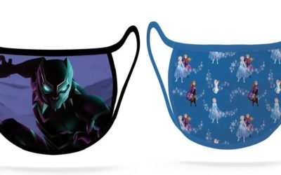 "New Star Wars, ""Frozen, and ""Black Panther"" Cloth Face Masks Arrive on shopDisney"