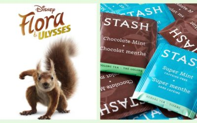 "Disney is Partnering with Stash Tea for a ""Flora & Ulysses"" Ultimate Premiere Viewing Box Full of Snacks and Treats"