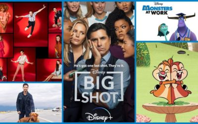 Disney+ Announces Original Series and Films Premiere Dates Through July 2021 (High School Musical, Big Shot, Monsters at Work, Turner & Hooch and More!)