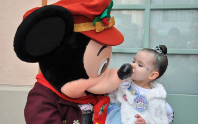 "Disney's ""The Wish Effect"" Make-A-Wish Video Series Continues with Violet Meeting Mickey Mouse at Disneyland"