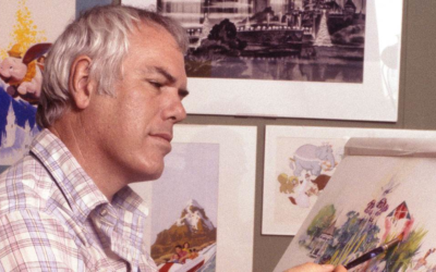 Disneyland Illustrator and Disney Legend Charles Boyer Passed Away February 8th