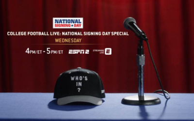 ESPN Announces Coverage of College Football National Signing Day Across Multiple Networks