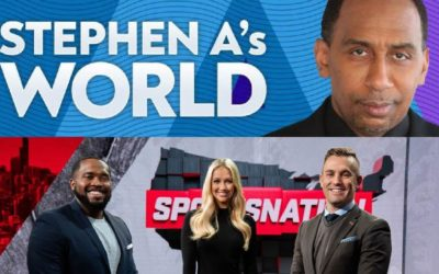 Stephen A's World and SportsNation Guests Announced for March 1st - 5th on ESPN+
