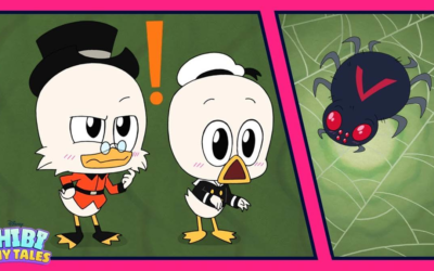 "First of Three ""DuckTales"" ""Chibi Tiny Tales"" Shorts Debuts Ahead of Series Finale in March"