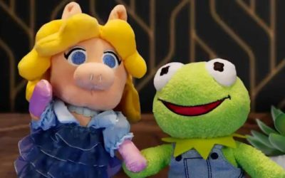 Kermit and Miss Piggy Disney nuiMOs coming to shopDisney March 1st, First Muppets Characters in the Line