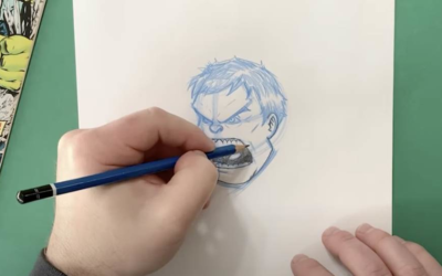 """Learn How to Draw Hulk in Marvel's """"You Can Draw"""" Series"""