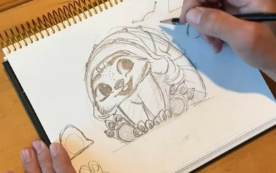 "Learn to Draw Baby Tuk Tuk from ""Raya and the Last Dragon"" with Lead Animator Malcon Pierce"