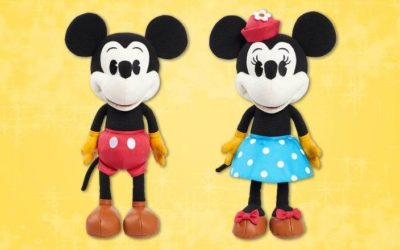 """Limited-Edition Mickey and Minnie Plush Announced as Next """"Treasures From The Vault"""" Exclusive"""