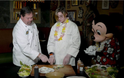 Make-A-Wish Kid, Winter, Experiences Life Changing Meal At Walt Disney World