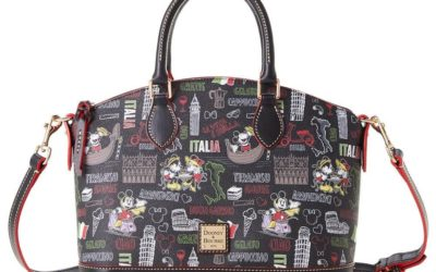 "Celebrate EPCOT's World Showcase with Dooney & Bourke ""Italia"" Collection on shopDisney"