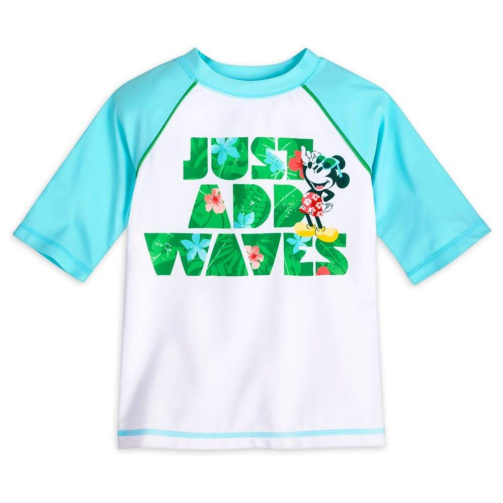 Mickey mouse tropical rash guard for boys shopdisney Disney Kids Swimwear and Accessories Make a Splash on shopDisney 8211 Laughing Place