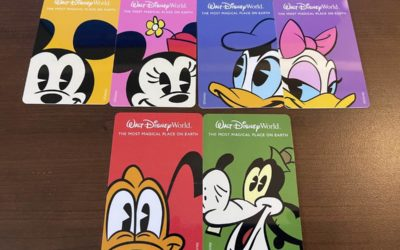 New Designs Come to Walt Disney World Key to the World Cards