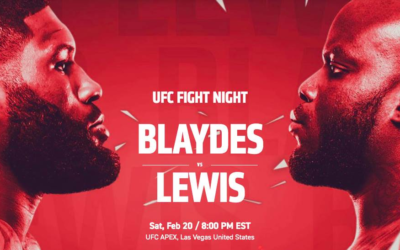 Preview - UFC Fight Night: Blaydes vs. Lewis is Sure to Bring Some Fireworks to ESPN+