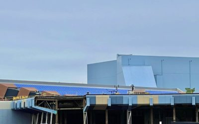 Progress Continues on Projects Around EPCOT at Walt Disney World