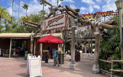 Theater for Indiana Jones Epic Stunt Spectacular Becomes Relaxation Station