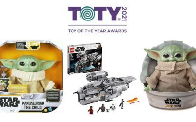2021 Toy of the Year Award Winners Topped By Star Wars: The Mandalorian with 5 Total Wins Through Hasbro, LEGO and Mattel