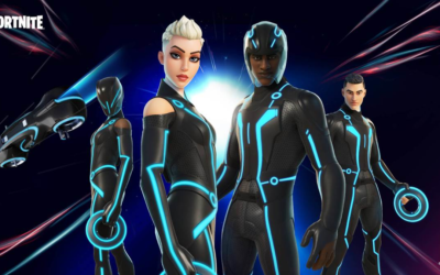 """""""TRON"""" Items Now Available in """"Fortnite"""""""
