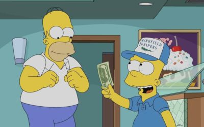 "TV Recap: ""The Simpsons"" Season 32, Episode 13 - ""Wad Goals"" Sees Bart Becoming a Golf Caddy"
