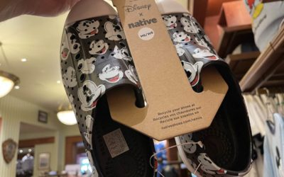 We Spotted the New Native and Disney Shoes at Magic Kingdom Park