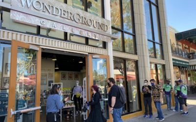Wonderground Gallery Reopens in Downtown Disney District