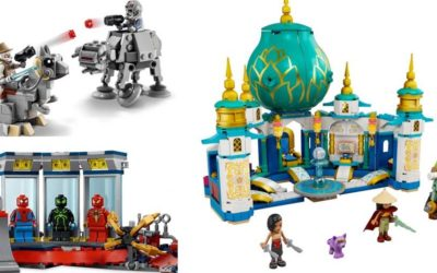 "LEGO ""Raya and the Last Dragon,"" Star Wars, and Marvel Sets Debut on shopDisney"