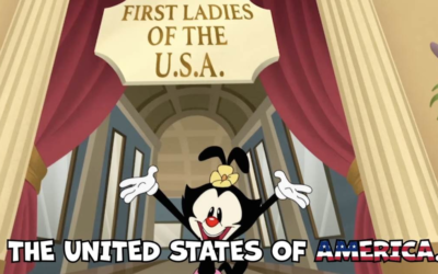 """Video - Dot Warner From """"Animaniacs"""" Sings a Tribute to the First Ladies of the United States"""