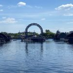 """Photos - The Last Barge for EPCOT's """"Harmonious"""" Has Made Its Way to World Showcase Lagoon"""