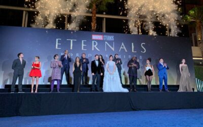 """First Social Reactions to Marvel's """"Eternals"""""""